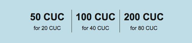 Cubacel recharges